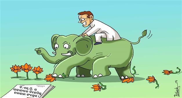 Khabar Odisha:Cartoon-Khabar-Odisha-Election-Result
