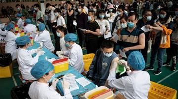Khabar Odisha:China-vaccine-doses-pass-one-billion-mark