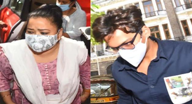 Khabar Odisha:Comedian-Bharati-Singh-and-her-husband-Harsh-went-to-judicial-custody-for-14-days