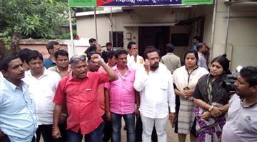Khabar Odisha:Congress-gherau-nayapalli-police-station