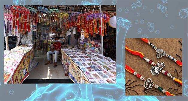 Khabar Odisha:Corona-Effect-In-Rakhi-Market