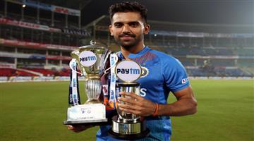 Khabar Odisha:Cricket-in-India-will-start-soon---Deepak-Chahar