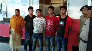 Khabar Odisha:Crime-Assam-Five-rohingyas-arrested-by-RPF-at-Guwahati-railway-station-in-Assam