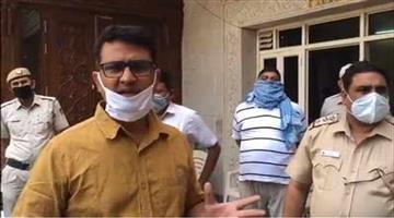 Khabar Odisha:Crime-Delhi-congress-president-Anil-Choudhuri-arrested-on-charge-of-lockdown-violation
