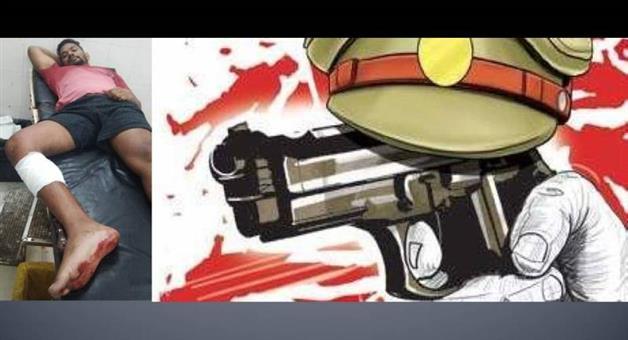 Khabar Odisha:Crime-Encounter-in-jaypore-wanted-criminal-Kabul-Khara-injured