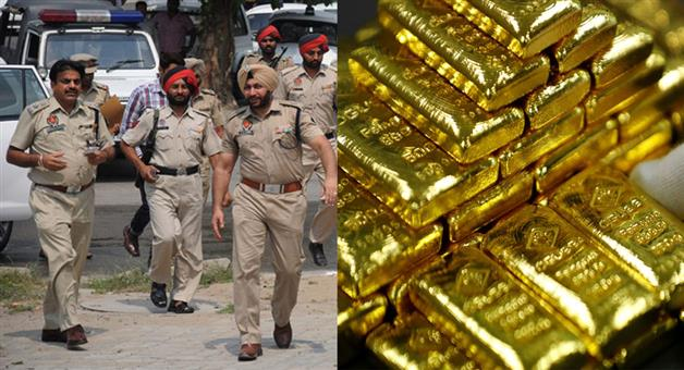 Khabar Odisha:Crime-Punjab-30-kg-gold-was-looted-in-hudhiana-in-20-minutes-in-Punjab-on-day-broad-light