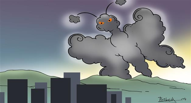Khabar Odisha:Cyclone-Titli-Cartoon