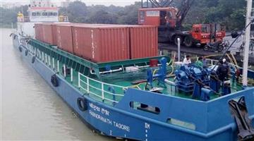 Khabar Odisha:Dabur-shiped-its-goods-from-Varanasi-to-Kolkata-via-national-waterway
