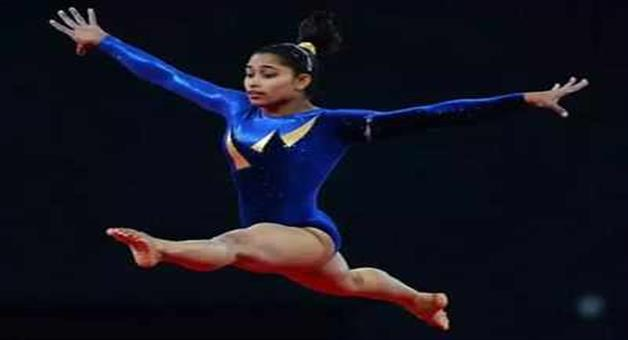 Khabar Odisha:Dipa-Karmakar-wins-gold-in-gymnastics-world-challenge-cup