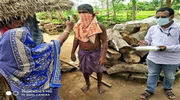 Khabar Odisha:Door-to-door-sevey-for-coron-people