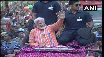Khabar Odisha:Elecation-odisha-pm-modi-mega-road-show-in-varanasi