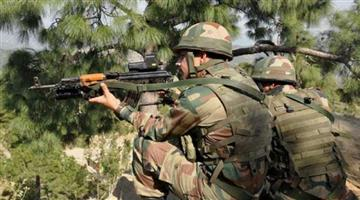 Khabar Odisha:Encounter-between-security-forces-and-terrorists-in-Larnu-Anantnag-a-terrorist-killed