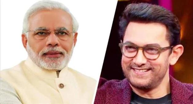 Khabar Odisha:Entertainment--bollywood-odisha-pm-narendera-modi-replied-to-aamir-khan-tweet-and-say-thankx-for-supporting-him-on-single-use-plastic