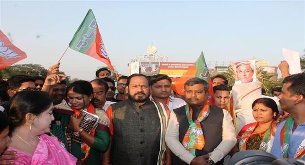 Khabar Odisha:Farmer-Rally-in-Sambalpur-Today