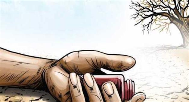 Khabar Odisha:Farmer-Suicide-in-Kalahandi