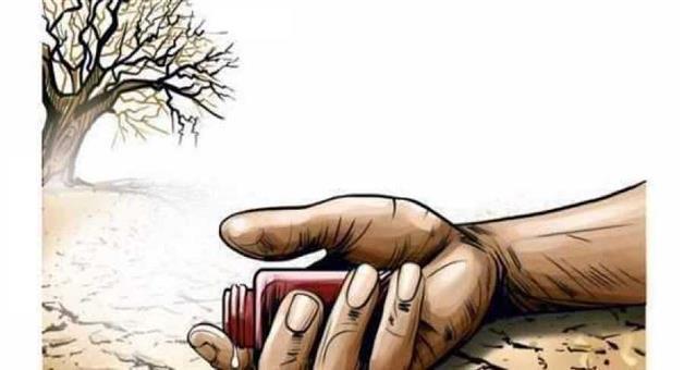 Khabar Odisha:Farmer-Suicide-in-Kendrapada