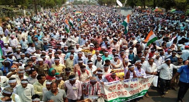 Khabar Odisha:Farmer-protest-from-October-29-in-Bhubaneswar