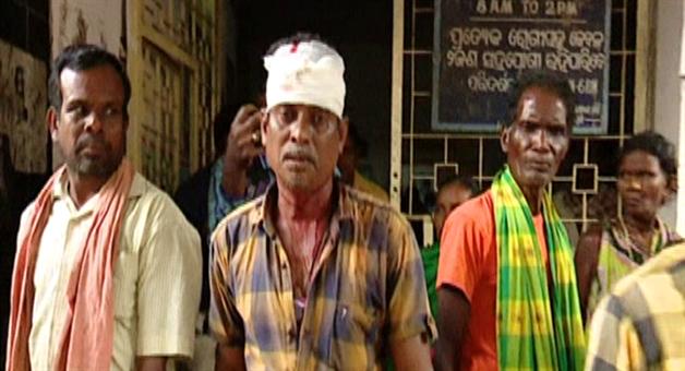 Khabar Odisha:Fater-and-Son-firing-Row-Jeypore-Koraput-Youth-BJD-President-Arrested