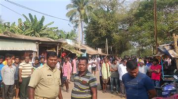 Khabar Odisha:Firing-in-Beguniapada-Former-Block-Chairman-Killed