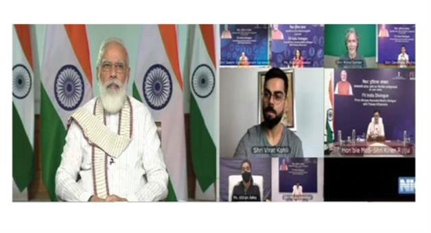 Khabar Odisha:Fit-India-campaignFor-Kohli-Chhole-is-not-for-sale-in-Delhi-said-Prime-Minister-Modi