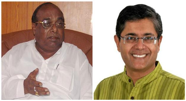 Khabar Odisha:Former-MP-Baijayanta-Panda-Meet-Damo-Rout-After-Expelled--from-Bjd
