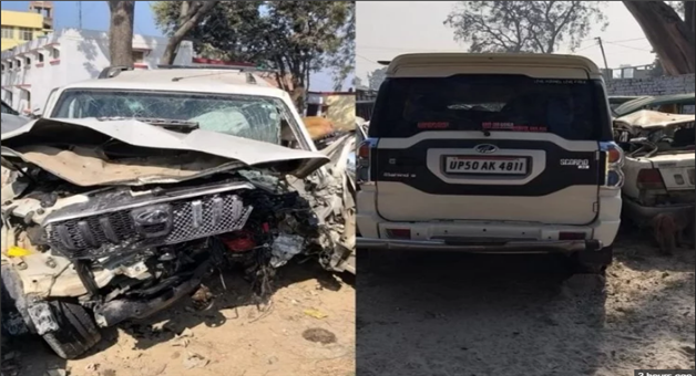 Khabar Odisha:Four-Died-And-One-Injured-In-An-Accident-In-Barabanki