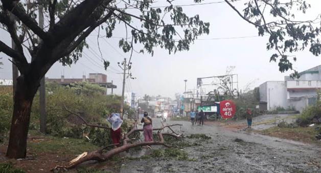 Khabar Odisha:Gajapati-district-most-affected-by-titli