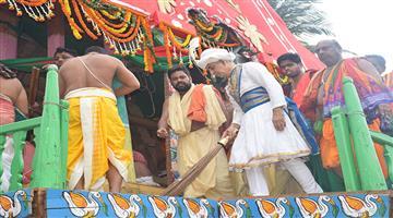 Khabar Odisha:Gajpati-Maharaj-will-not-perform-chherapahanra-rituals-this-year
