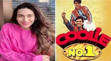 Khabar Odisha:Govinda-and-Karishma-Kapoor-shares-theposter-of-Collie-no-1-movie