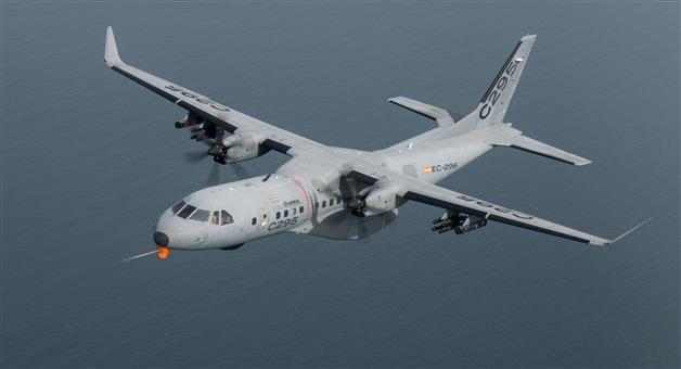 Khabar Odisha:Govt-seals-mega-deal-with-Airbus-for-purchase-of-56-C-295-military-transport-aircraft