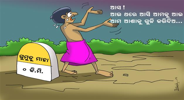 Cartoon Odisha: Gumudumaha-Cartoon-3