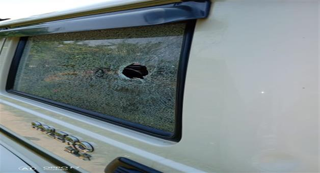 Khabar Odisha:Gunshots-fired-on-Phulbani-ex-MLA-Debendra-Kanhars-car