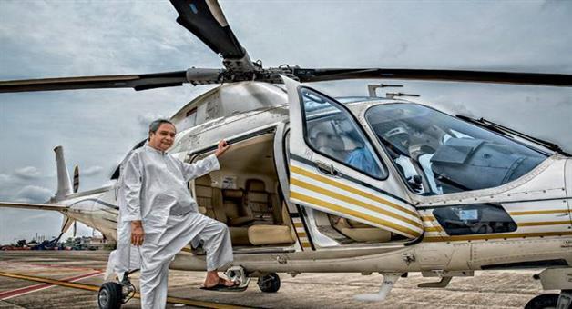 Khabar Odisha:Helicopter-flying-in-chilika--allegations-CM