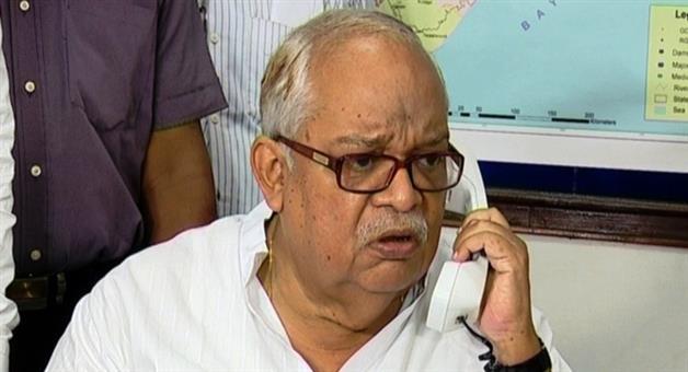 Khabar Odisha:HelicopterLandingRow-Odisha-Forest--Environment-minister-takes-u-turn