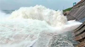Khabar Odisha:Hirakud-Dam-authorities-open-3-more-sluice-gates-of-the-reservoir