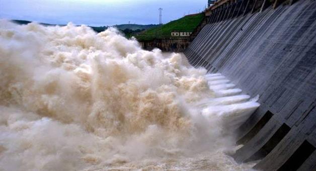 Khabar Odisha:Hirakud-dam-opens-6-more-gates