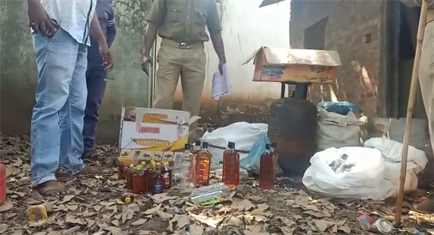 Khabar Odisha:Huge-quantities-of-counterfeit-wine-were-seized-by-the-Department-of-Corrections