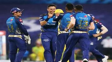 Khabar Odisha:IPL-2020-Mumbai-beat-Kolkata-by-49-runs-in-the-fifth-match-Punjab-Bangalore-clash-today