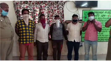 Khabar Odisha:Illegal-Manganese-trafficking-gang-busted-by-Barbil-police
