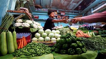 Khabar Odisha:Indias-wholesale-price-fell-to-106-in-September