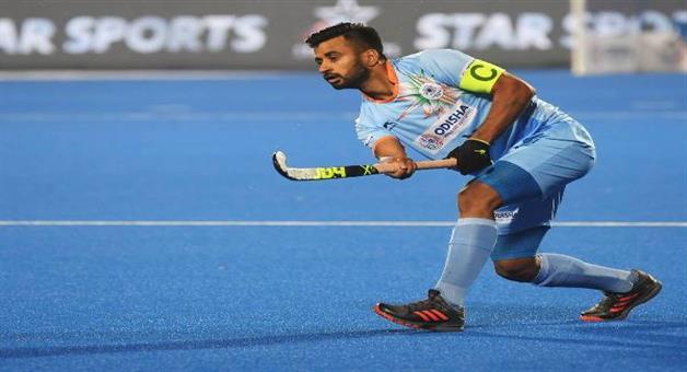 Khabar Odisha:Indian-Hockey-captain-preparing-himself-for-upcoming-season-during-lockdown