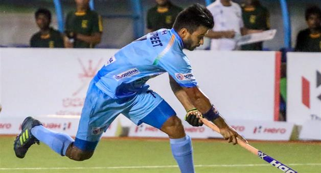 Khabar Odisha:Indian-hockey-team-captain-says-first-target-is-to-get-place-in-quarter-final-of-world-cup
