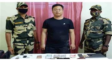Khabar Odisha:International-Chinese-intruder-arrested-in-West-Bengals-Malda-laptop-mobile-phones-seized