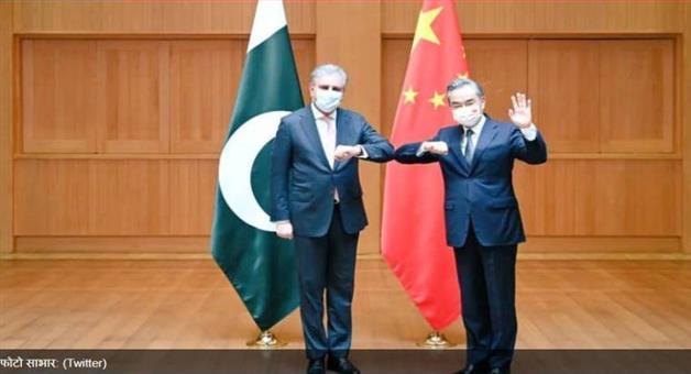 Khabar Odisha:International-Chinese-FM-Wang-Yi-Met-Pakistani-counterpart-Shah-Mahmood-Qureshi-role-in-Kashmir
