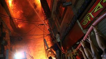 Khabar Odisha:International-Dhaka-Fire-kills-at-least-10-in-Bangladesh-capital