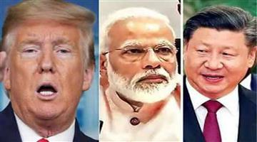 Khabar Odisha:International-Donald-Trump-says-PM-Narendra-Modi-is-not-in-good-mood-over-border-row-with-china