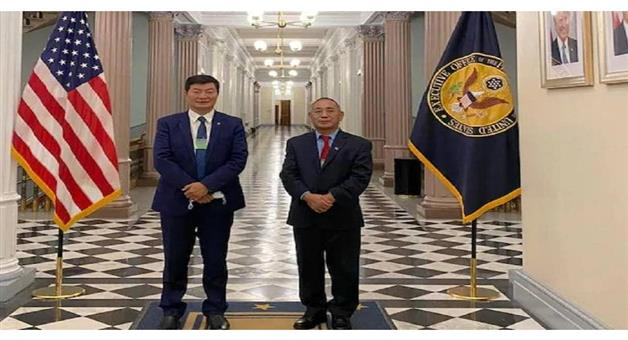 Khabar Odisha:International-Head-of-the-Tibetan-government-visits-us-white-house-after-6-decades-China-cries-foul