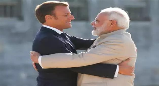 Khabar Odisha:International-India-Pakistan-should-resolve-Kashmir-bilaterally-no-third-party-should-incite-violence-Macron