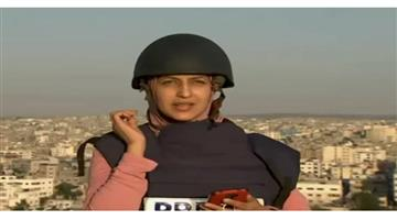 Khabar Odisha:International-Journalist-continues-live-reporting-even-after-airstrike-hits-building-directly-in-front-of-her