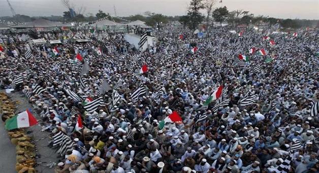Khabar Odisha:International-Maulana-Fazal-Ur-Rehman-announced-plan-B-at-Azadi-march-Jalsa